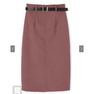 GRL - GRL ベルト付きバックスリットスカート