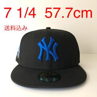 ニューエラー(NEW ERA)のNew Era Cap ツバ裏ブルー 1/4 ニューエラ ヤンキース キャップ(キャップ)