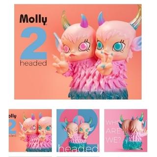 MEDICOM TOY - 【国内限定数10体】 MOLLY  2 headed  ビッグサイズ!!