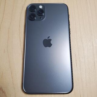 7%3%OFF可★香港版 iPhone 11 Pro 美品★純正クリアケース付