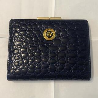 ジャンニヴェルサーチ(Gianni Versace)のGIANNI VERSACE 財布 紺色(財布)