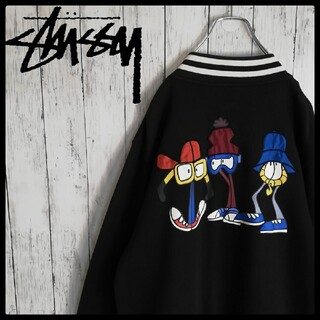STUSSY - STUSSY × REAS Wayback Throwback 限定スタジャン