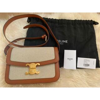 celine - 新品同様✨セリーヌ トリオンフ ミディアムショルダーバッグ