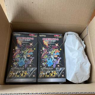 ポケモン(ポケモン)のシャイニースターv BOX 新品未開封 シュリンク付 ポケモンカード 2BOX(Box/デッキ/パック)