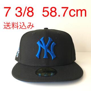 ニューエラー(NEW ERA)のNew Era Cap ツバ裏ブルー 3/8 ニューエラ ヤンキース キャップ(キャップ)