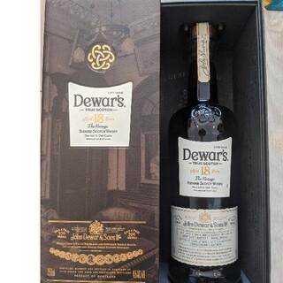 サッポロ(サッポロ)のデュワーズ 18年 750ml 箱付き新品(ウイスキー)
