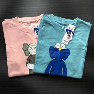 UNIQLO - TシャツKAWS UNIQLO L Tシャツ ユニクロ 新品 二枚セット