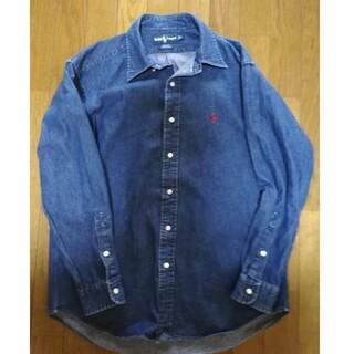 Ralph Lauren - ラルフローレン デニムシャツ やや肉厚 ビッグサイズ