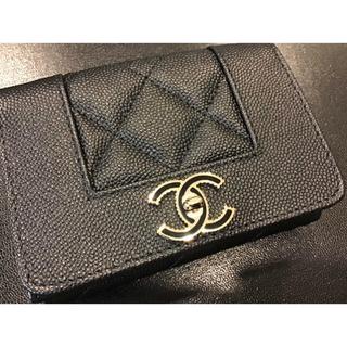シャネル(CHANEL)のCHANEL シャネル 財布 マドモアゼル財布 三つ折り財布(財布)