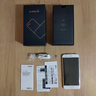 ASUS - ASUS ZenFone4 カスタマイズモデル ホワイト