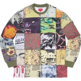 Supreme - Supreme Mosaic Patchwork L/S Top XL 新品