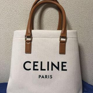 celine - CELINE ホリゾンタル トートバッグ キャンバス