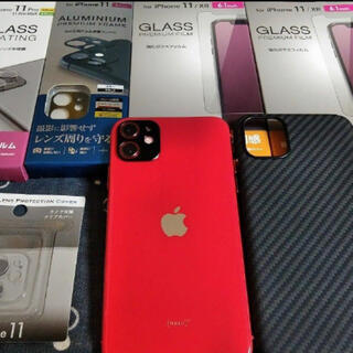 iPhone - iPhone11 simフリー 64GB レッド