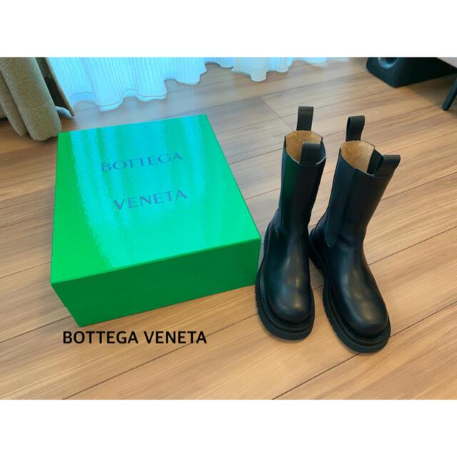 Bottega Veneta(ボッテガヴェネタ)のBOTTEGA VENETA ラグブーツ 38 レディースの靴/シューズ(ブーツ)の商品写真