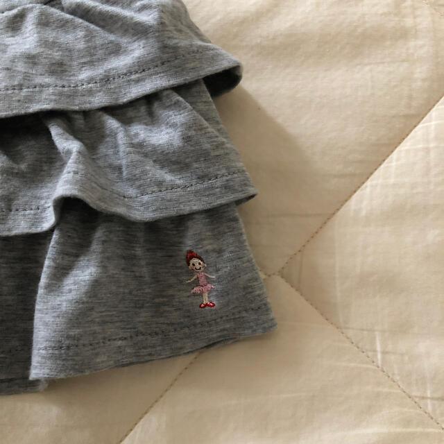 mikihouse(ミキハウス)のミキハウス リーナちゃん フリルスカート 2枚 ニットプランナー メゾピアノ キッズ/ベビー/マタニティのキッズ服女の子用(90cm~)(スカート)の商品写真