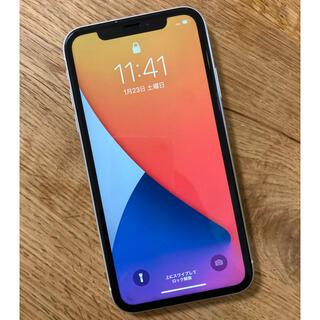 アップル(Apple)のiPhoneXR シルバー64GB SIMフリー(スマートフォン本体)