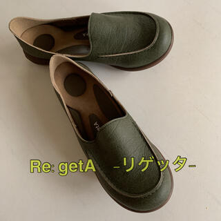 Re:getA - 未使用品◆Re:getA リゲッタ ドライビングローファー スリッポン M