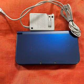 ニンテンドー3DS(ニンテンドー3DS)のNEW 3DS LL 本体 メタリックブルー 青 任天堂 Nintendo(携帯用ゲーム機本体)