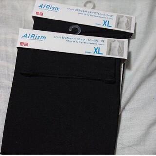 UNIQLO - ユニクロ 新品 XLサイズ エアリズムノースリーブ ハイネックT UVカット