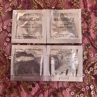 マキアージュ(MAQuillAGE)のマキアージュ ピーチチェンジベース CC(CCクリーム)