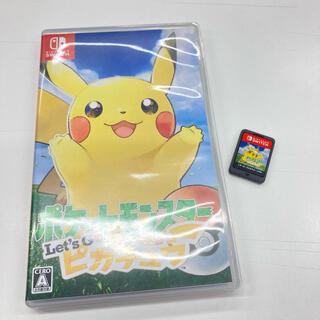 ニンテンドウ(任天堂)のポケットモンスター Let's Go! ピカチュウ Switch(家庭用ゲームソフト)