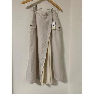 NICE CLAUP - ✱新品タグ付き✱ ナイスクラップ プリーツ切り替えスカート