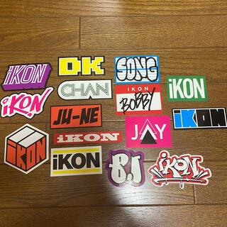 iKON - ikon ステッカー 公式グッズ