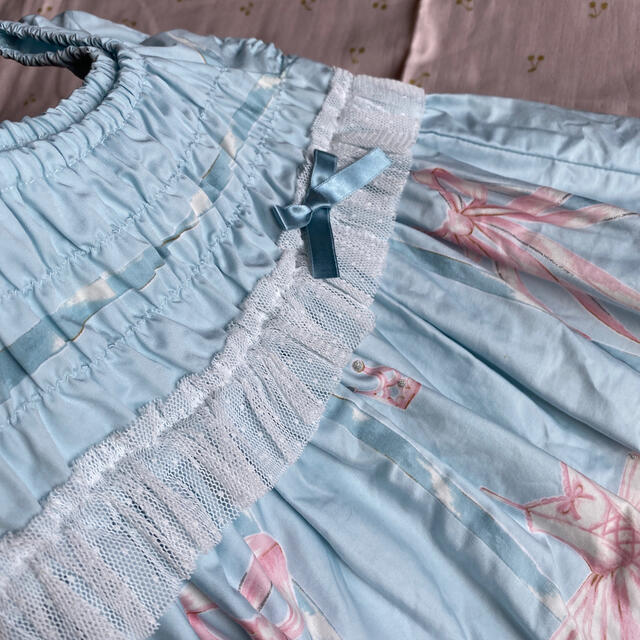 Shirley Temple(シャーリーテンプル)のバレエJSK キッズ/ベビー/マタニティのベビー服(~85cm)(ワンピース)の商品写真