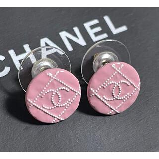 CHANEL - ■未使用品■稀少カラー CHANEL ピアス アクセサリー ココマーク