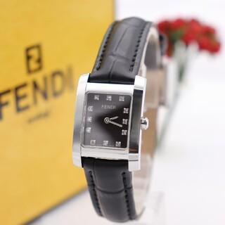 FENDI - 正規品【新品電池】FENDI 7000L/ダイヤ12P ダークブラウン 動作品