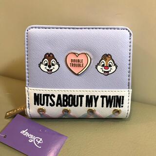 Disney - 新品!チップとデール二つ折り財布