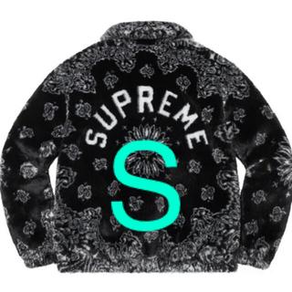 Supreme - Supreme Bandana Faux Fur Bomber Jacket S