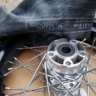 ハーレーダビッドソン(Harley Davidson)のハーレー ワイドグライド 純正リアホイール 17インチ(ホイール)