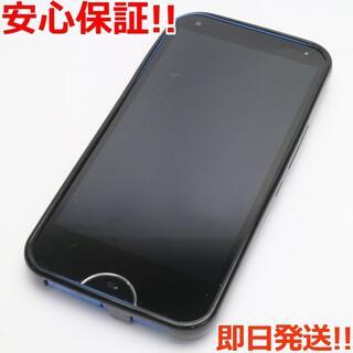 キョウセラ(京セラ)の新品同様 UQmobile DIGNO W ブルー (スマートフォン本体)