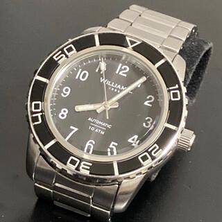 セイコー(SEIKO)のセイコー 6R15 高級 自動巻 搭載 WILLIAM L.1985 セイコー製(腕時計(アナログ))
