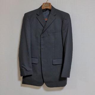 アオキ(AOKI)のAOKI スーツ セットアップ ブラック ストライプ(セットアップ)