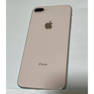 ソフトバンク(Softbank)のiPhone 8 plus  Silver 64G(スマートフォン本体)