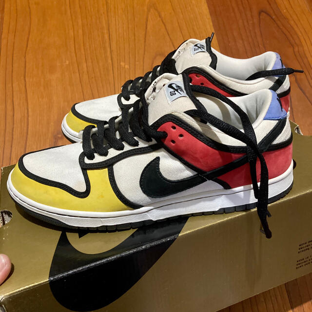 NIKE(ナイキ)のnike dunk sb ダンク ナイキ ピエトモンドリアン メンズの靴/シューズ(スニーカー)の商品写真