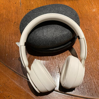 Beats by Dr Dre - 新品未使用-Beats by Dr Dre Solo Pro Ivory