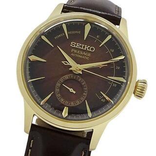 セイコー(SEIKO)のセイコー 時計 4R57-00M0 SARY136 プレサージュ メンズ(腕時計(アナログ))