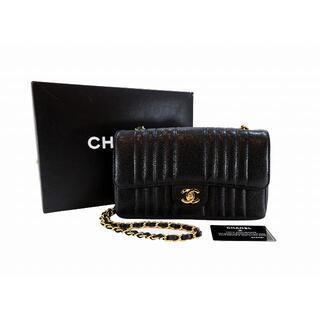 CHANEL - シャネル マドモアゼル チェーンショルダー 黒 ブラック 箱・保存袋・Gカード付