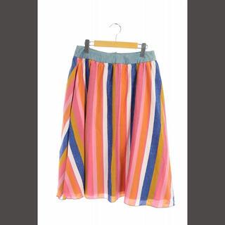 リーバイス(Levi's)のリーバイス Levi's Made&Crafted スカート フレア ストライ(ロングスカート)