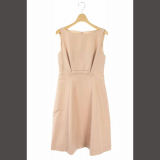 FOXEY - フォクシー FOXEY ワンピース ドレス ノースリーブ ロング 38 ピンク
