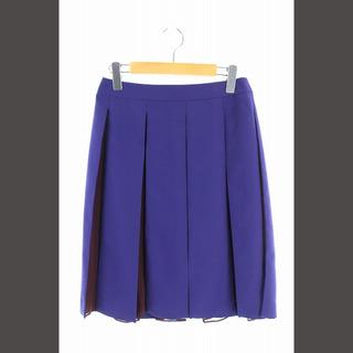 ADORE - アドーア ADORE スカート プリーツ ひざ丈 インナー付き 38 紫 /KN
