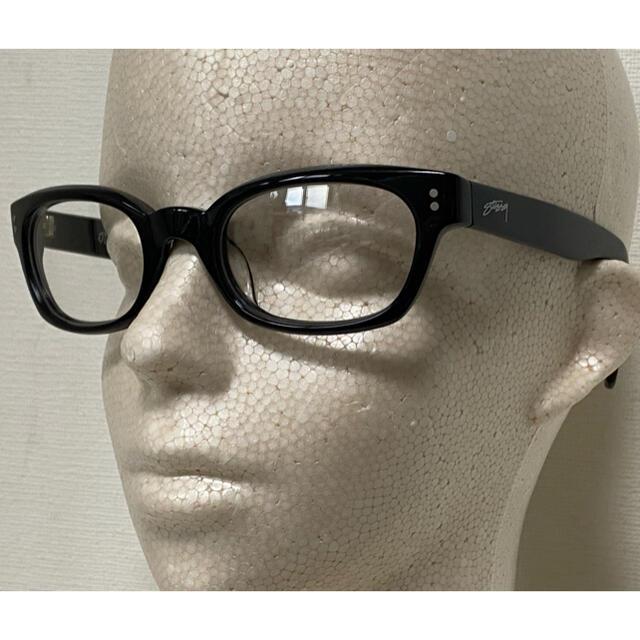 STUSSY(ステューシー)のStussy/伊達メガネ/ステューシー/クリア/ビンテージ/オイスター/ケース付 メンズのファッション小物(サングラス/メガネ)の商品写真