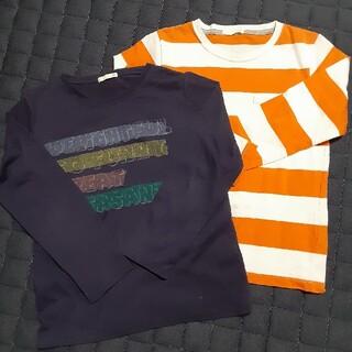 GU - GU長袖Tシャツ 2枚セット 140