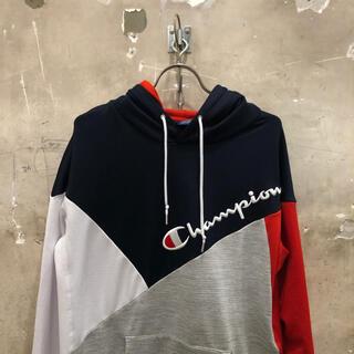 Champion - チャンピオン 切替しスウェットパーカー XL champion