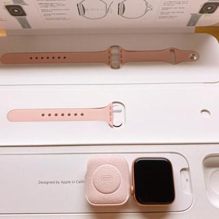 アップルウォッチ(Apple Watch)のApple Watch SERIES5  40MM Goldアルミニウムケース(その他)