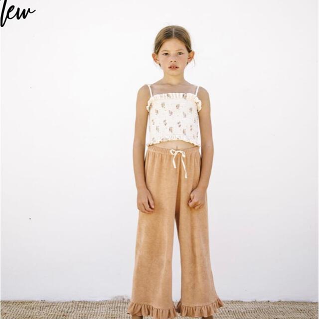 liilu Terry pants sunkiss  キッズ/ベビー/マタニティのキッズ服女の子用(90cm~)(パンツ/スパッツ)の商品写真