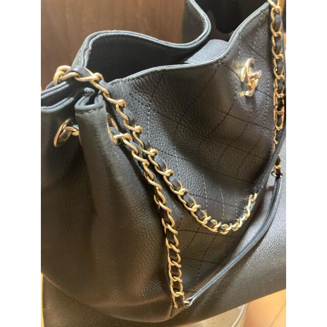 CHANEL(シャネル)のうにいくら様専用シャネル マトラッセ チェーントートバッグ レディースのバッグ(トートバッグ)の商品写真